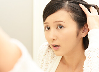 薄毛に対するコンプレックス